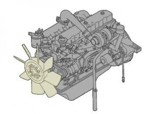 TOYOTA 2L-T, 3L ENGINE SERVICE REPAIR MANUAL