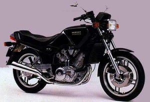 YAMAHA XZ550RJ MOTORCYCLE SERVICE REPAIR MANUAL