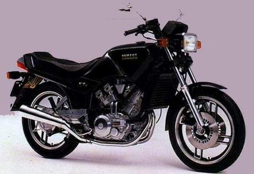 YAMAHA XZ550RJ MOTORCYCLE SERVICE REPAIR MANUAL