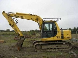 KOMATSU PC130-6K, PC150LGP-6K HYDRAULIC EXCAVATOR SHOP MANUAL + OPERATION & MAINTENANCE MANUAL