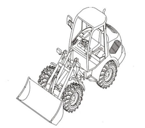 Takeuchi TW60 Wheel Loader Parts Manual (Serial No. E104062~)