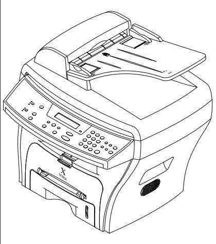 XEROX WorkCentre PE16 Multifunction Printer (Print/Copy/Scan/Fax) Service Repair Manual