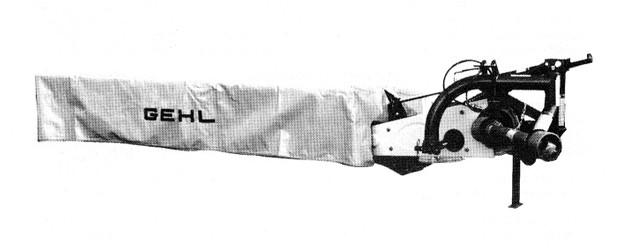 GEHL 160 (140) Disc Mowers Parts Manual
