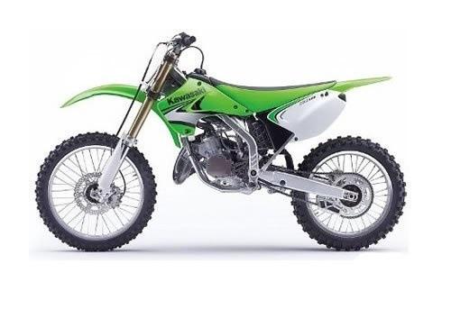 KAWASAKI KX125, KX250 MOTORCYCLE SERVICE REPAIR MANUAL 2003-2008 DOWNLOAD