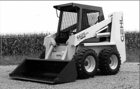 GEHL SL6625 Skid-Steer Loader Parts Manual