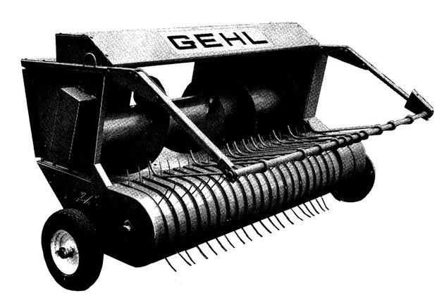 GEHL HA1000 Hay Attachment Parts Manual