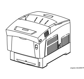 HIBANA Laser Printer Base Engine Technical Manual