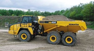 KOMATSU HM400-3 ARTICULATED DUMP TRUCK SERVICE REPAIR MANUAL