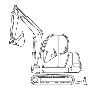 GEHL 802 Compact Excavator Parts Manual