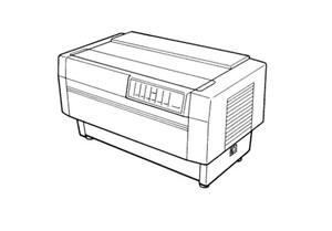 Epson DFX-5000+ Terminal Printer Service Repair Manual