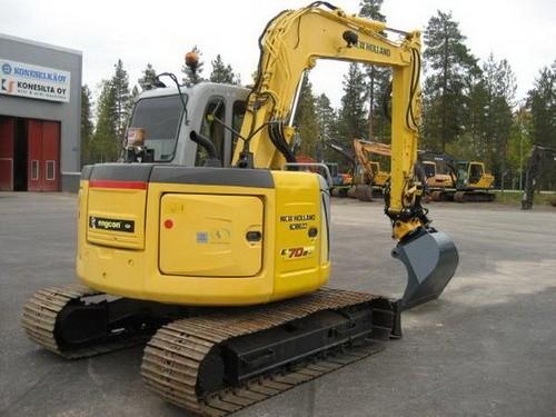 New Holland E70BSR ROPS Tier 3 Midi Crawler Excavator Service Repair Manual