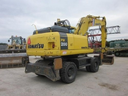 KOMATSU PW200-7K, PW220-7K HYDRAULIC EXCAVATOR SERVICE REPAIR MANUAL