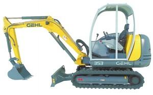 GEHL 353/373 Compact Excavators Parts Manual
