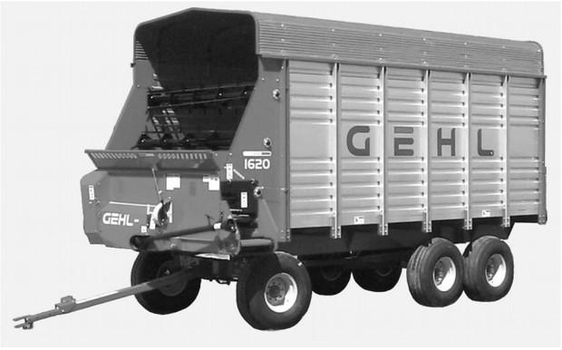 GEHL 1620 Forage Box Parts Manual