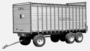 GEHL 1840 Forage Box & Chassis Units Parts Manual