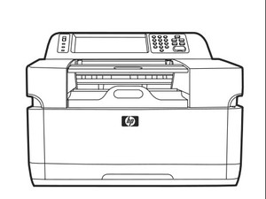 HP 9200c Digital Sender Service Repair Manual