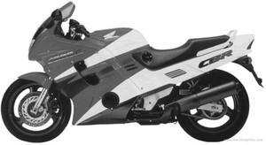 HONDA CBR1000F MOTORCYCLE SERVICE REPAIR MANUAL 1992-1995 DOWNLOAD