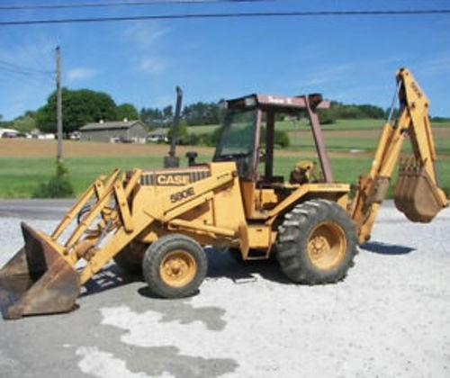 CASE 580E SUPER LOADER BACKHOE SERVICE REPAIR MANUAL