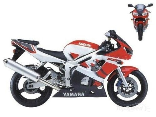 YAMAHA YZF-R6 MOTORCYCLE SERVICE REPAIR MANUAL 1999-2002 DOWNLOAD
