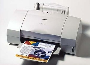 Canon BJC-5000 InkJet Printer Service Manual + Parts Catalog