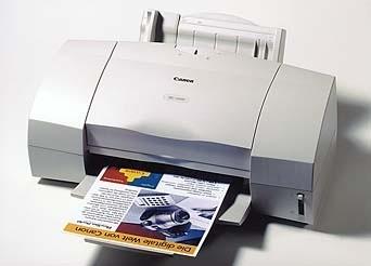 Canon BJC-5000 InkJet Printer Service Manual + Parts Catalog