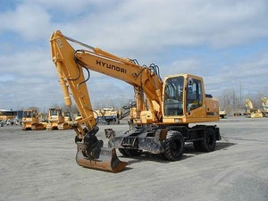 HYUNDAI R170W-7 WHEEL EXCAVATOR SERVICE REPAIR MANUAL