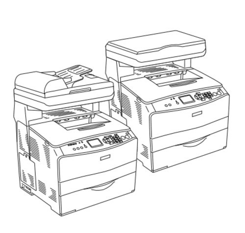 Epson AcuLaser CX11/CX11F Color Multi-Function Page Printer Service Repair Manual