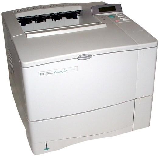 HP LaserJet 4000, 4000 N, 4000 T, 4000 TN Printers Service Repair Manual