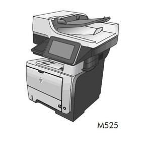 HP LASERJET ENTERPRISE 500 MFP M525 Printers Service Repair Manual