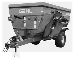 GEHL 7285/7335 Mixer Feeders Parts Manual