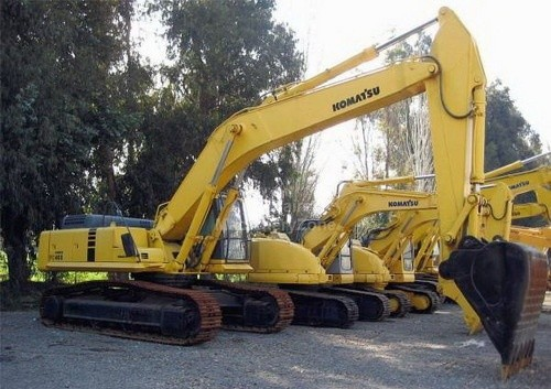 KOMATSU PC400LC-6, PC400HD-6 HYDRAULIC EXCAVATOR SHOP MANUAL + OPERATION & MAINTENANCE MANUAL