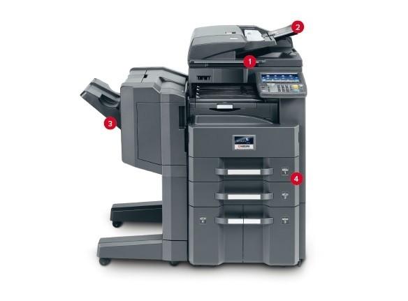 Kyocera TASKalfa 3010i / 3510i Multi-Function Printer Service Repair Manual