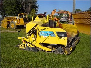 BOMAG PROPAVER 3310 OPERATION & MAINTENANCE MANUAL