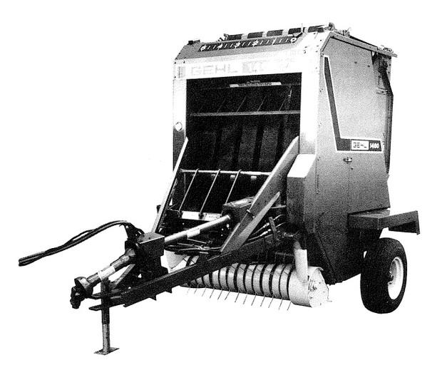 GEHL RB1460 Round Baler Parts Manual