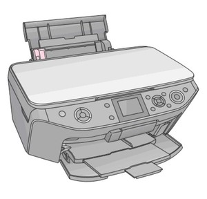 Epson Stylus Photo RX585/RX595/RX610 Color Inkjet Printer Service Repair Manual
