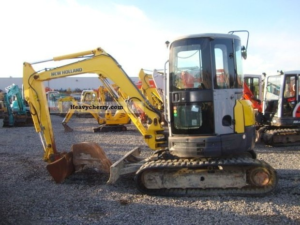 New Holland E40.2SR, E50.2SR Mini Crawler Excavator Service Repair Manual
