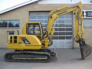KOMATSU PC95R-2 HYDRAULIC EXCAVATOR SERVICE REPAIR MANUAL + OPERATION & MAINTENANCE MANUAL