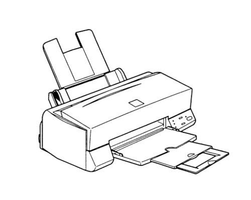 Epson Stylus Color 400 Color Ink-Jet Printer Service Repair Manual