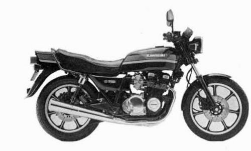 KAWASAKI KZ750 FOUR MOTORCYCLE SERVICE REPAIR MANUAL 1980-1988 DOWNLOAD
