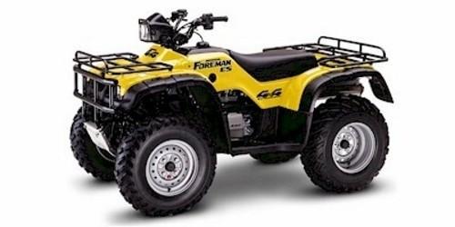 HONDA TRX450S / TRX450ES FOURTRAX FOREMAN ATV SERVICE REPAIR MANUAL 1998-2001 DOWNLOAD