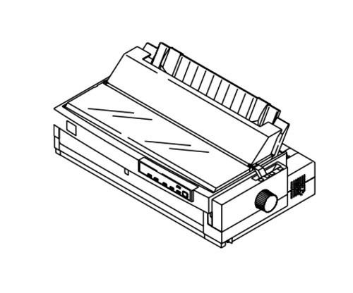 Epson LQ-2080 Impact Serial Dot Matrix Printer Service Repair Manual