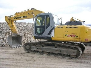 NEW HOLLAND E215 CRAWLER EXCAVATOR SERVICE REPAIR MANUAL