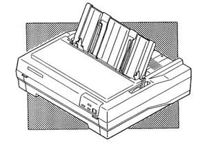 Epson fx-870 / fx-1170 terminal printer service repair manual dow.