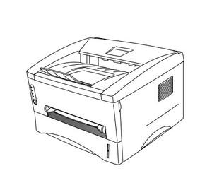 Brother Laser Printer HL-1660 Parts Reference List