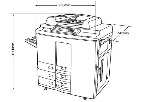 TOSHIBA 8070/6570/5570/4580 DIGITAL PLAIN PAPER COPIER Service Repair Manual