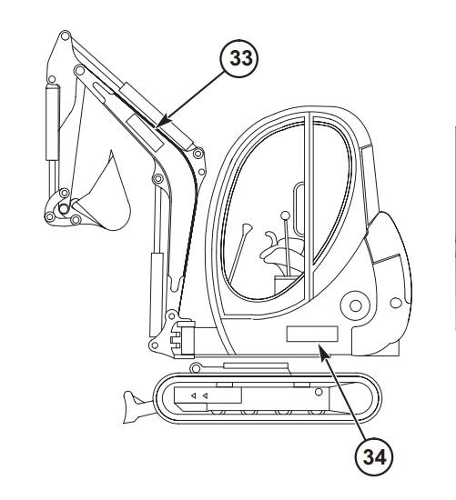 Gehl 193 223 Compact Excavators Parts Manual