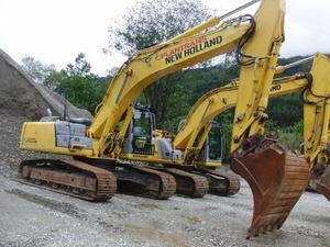 NEW HOLLAND KOBELCO E265B, E305B CRAWLER EXCAVATOR SERVICE REPAIR MANUAL