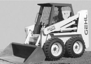 GEHL SL4525/SL4625 Skid Loader Parts Manual