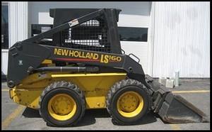 NEW HOLLAND LS160, LS170 SKID STEER LOADER SERVICE REPAIR MANUAL