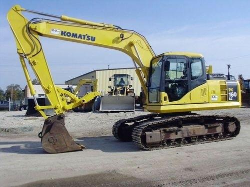 KOMATSU PC160LC-7E0, PC180LC-7E0, PC180NLC-7E0 HYDRAULIC EXCAVATOR SERVICE REPAIR MANUAL